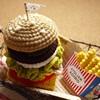 のっぽハンバーガー&フライドポテト