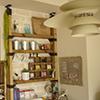 LABRICOを使ってカフェコーナーをカウンター壁面に